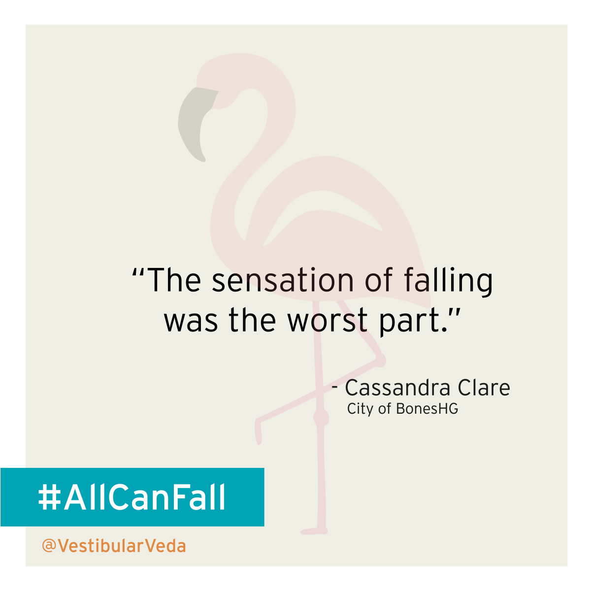 """The sensation of falling was the worst part.""  ― Cassandra Clare, City of Bones"