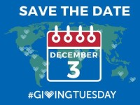 Save the Date: Giving Tuesday is Dec 3 2019