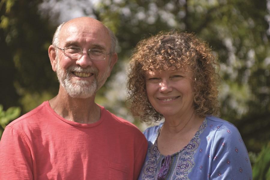 Stephen and his wife Myrrh