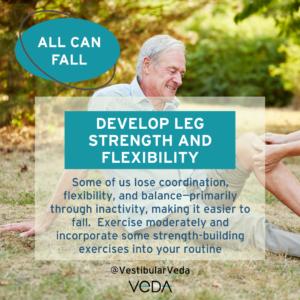 Develop Leg Strength & Flexibility